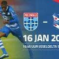 Deelnemers Streetleague naar PEC Zwolle - SC Heerenveen